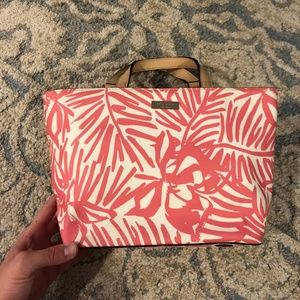 Kate Spade Pink and White Bag